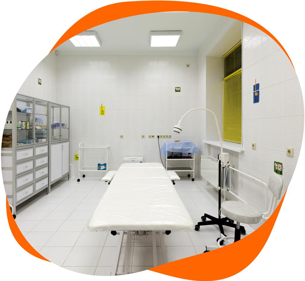 Больница с инфекционным отделением